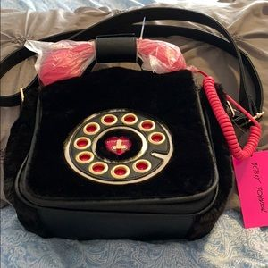 Betsey Johnson phone handbag